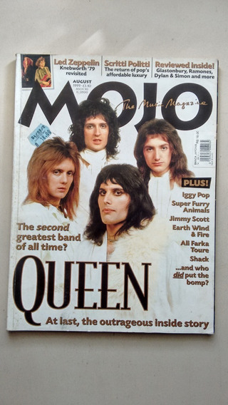 Revista Importada Inglês Músic Magazine Queen Plus F016