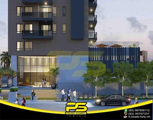 Apartamento Loft Novo, Área De Lazer, 39,43m² Por Apenas R$ 257.399,04 Em Bessa, João Pessoa - Paraíba - Lf0002