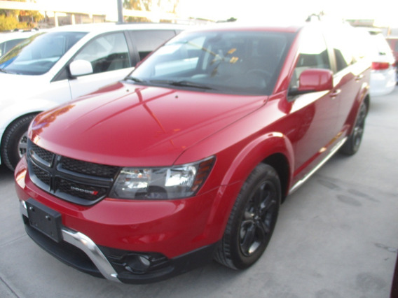 Dodge Journey Sport Plus, V6, Q/c, Color Rojo, Modelo 2019
