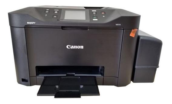 Multifuncional Jato De Tinta Colorida Canon Maxify Mb5110 Bulk Ink Grande Rende + 30 Mil Paginas Impressas Menor Custo