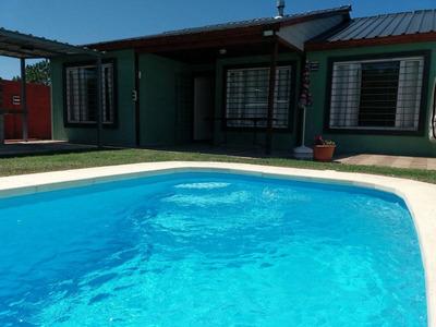 Casas Alquiler. Parque Del Plata Fte A La Playa - Pileta