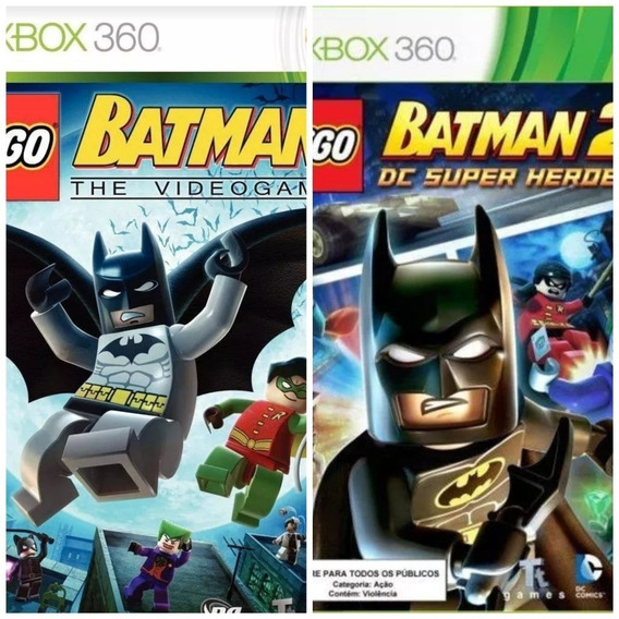 Lego Batman 1 + Lego Batman 2-xbox 360-midia Digital