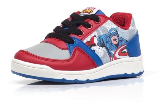 Zapatillas Marvel Atomik Niños Skater Cordon Capitan America