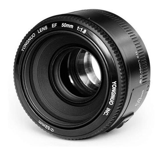 Lente 50mm Yongnuo P/canon + Rebatedor Circular 5 Em 1
