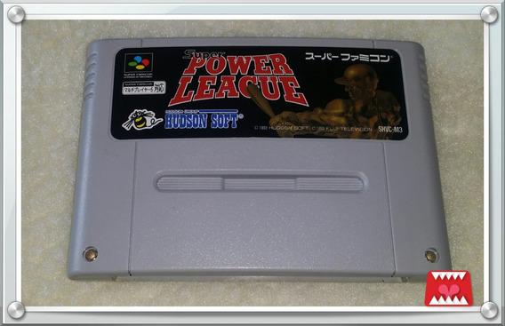 Trilogia Super Power League 1, 2 E 3 Super Famicom/ Snes