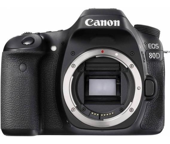 Camera Canon 80d Eos Dslr (corpo)