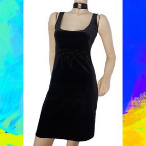a22df1c956 Vestidos Cortos Terciopelo Mujer - Vestidos de Fiesta Negro en ...