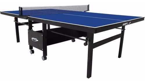 Mesa De Ping Pong (tênis Mesa) Klopf 1084 Mdf 18mm Dobrável