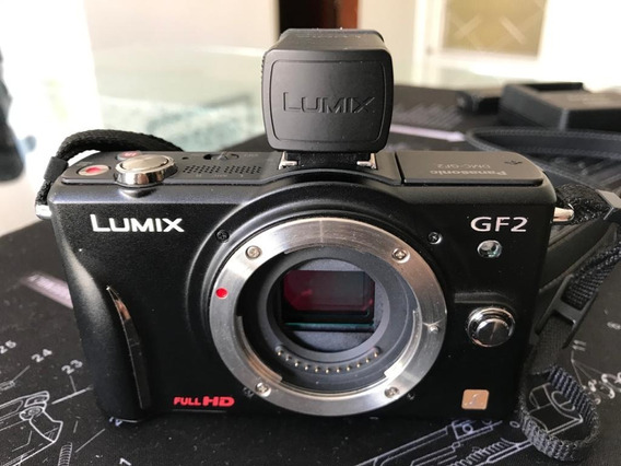 Panasonic Lumix Dmc-gf2 12.1mp + Viewfinder Dmw-lvf1e