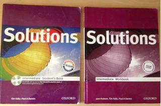 Solutions, Editorial Oxford (1° Medio)