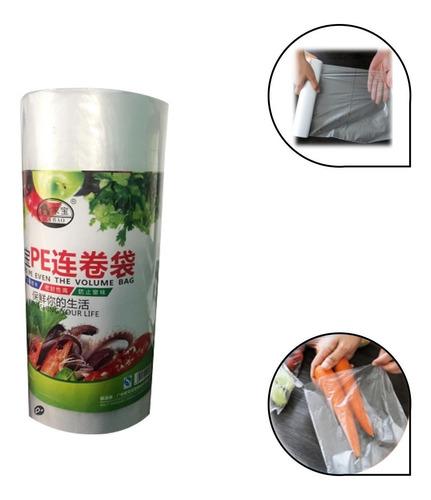 Imagen 1 de 3 de 1000 Bolsas Plásticas Para Alimentos De Lujo.