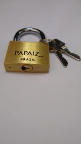 Cadeado Papaiz 50mm Com 2 Chaves Simples