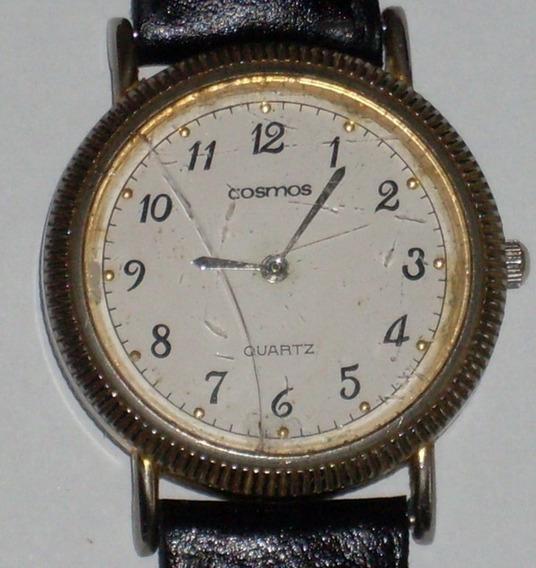 Relógio Antigo - À Bateria Quartz - Cosmos - 3,3 Cm