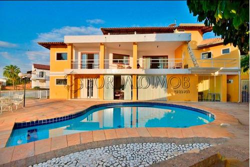 Casa Com 445m², Terreno De 800m² Com 540m² De Área Verde, Vista Panorâmica Para O Lago Paranoá E 3º Ponte. - Villa127538