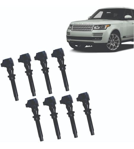 Jogo 8 Bobina Ignição Land Rover Ranger Rover 8w93-12a366-da