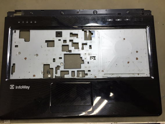 Carcaça Base Teclado Touchpad Itautec A7520