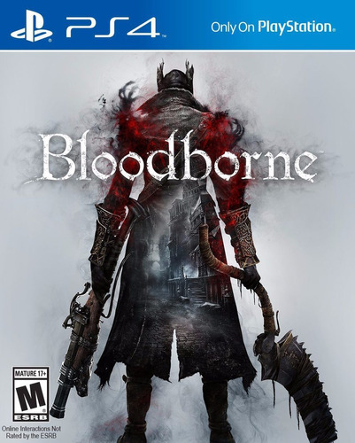 Bloodborne Ps4 Fisico Dvd - Playstation 4
