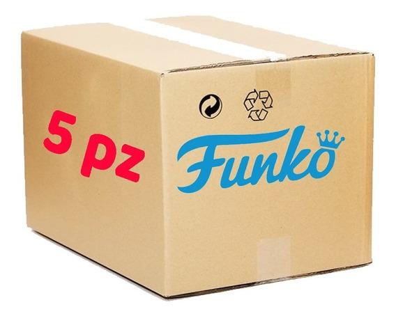 5 Piezas Funko Pop Al Azar 100% Original Tienda Oficial