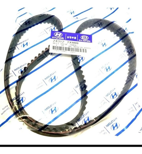 Correa Tiempo 137 Dientes Hyundai Kia Rio 1.5 Stylus Spectra