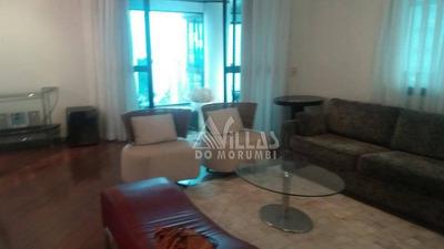 Morumbi Com 4 Dormitórios ,mobiliado Com157 M² Por R$ 1.990/mês - Ap2112