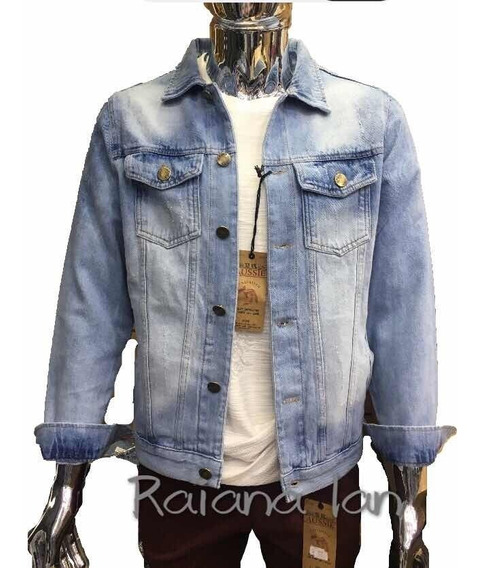 Kit2 Jaqueta Jeans Casaco Masculino Premium Rascada Frete