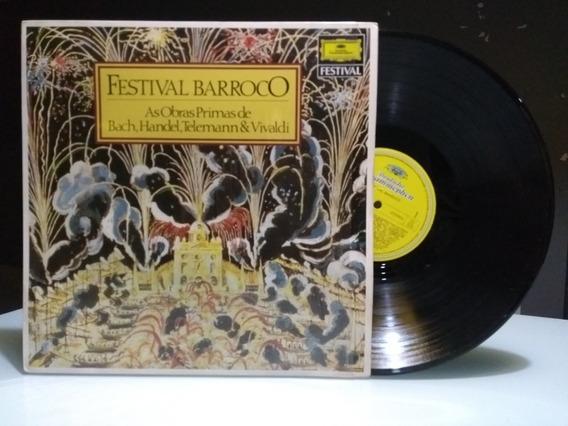 Festival Barroco Lp - As Obras Primas De Bach, Handel, Telem