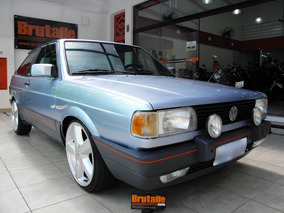 Volkswagen Gol 1.8s Ap Gts Alcool 2p Manual Azul 1994
