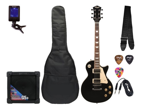 Kit Guitarra Tagima Memphis Les Paul Mlp 100 Frete Grátis