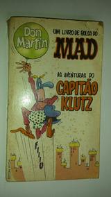 Revista Antiga - As Aventuras Do Capitao Klutz - Mad