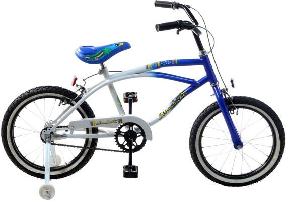 Bicicleta Playera Niños Rodado 16 Siambretta
