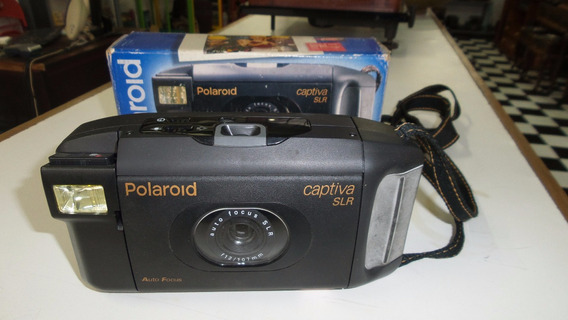 (289) Maquina Fotografica Polaroid Captiva Slr.