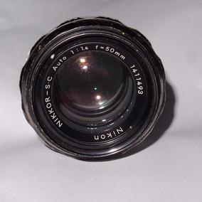 Lente Nikon 50mm F1.4 Fx Foco Manual