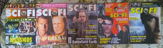 Pacote Sci-fi News Nº 10, 12, 32, 58, 130