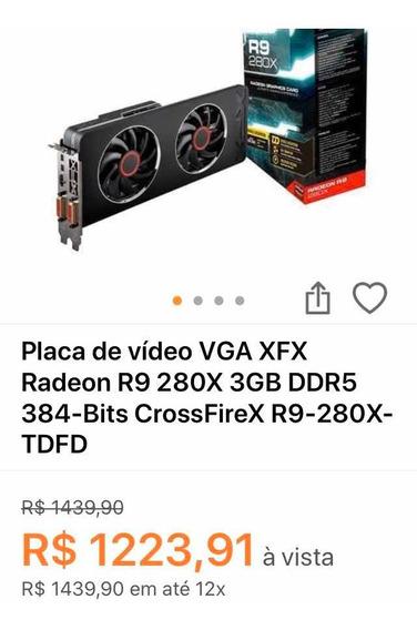 Placa De Vídeo Xfx R280x
