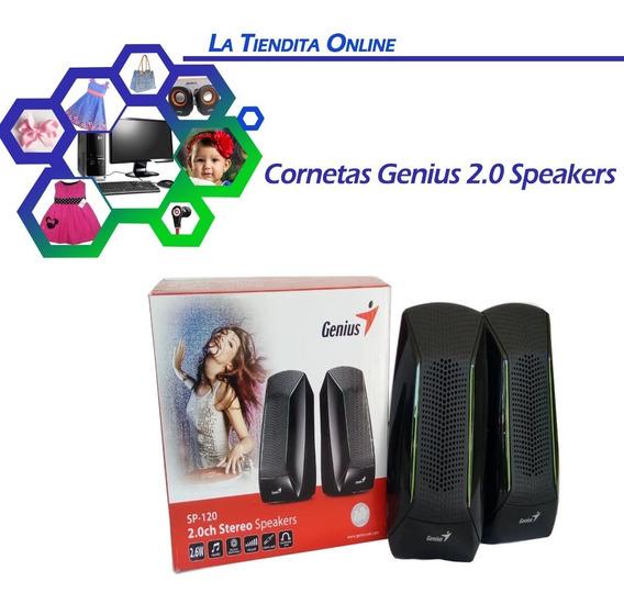 Cornetas Para Computadora , Pc Genius 2.0 Speakers