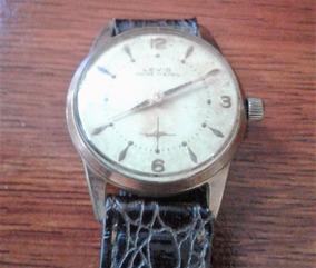 Arremate Antigo Relógio Pul Levis 17 Ris Corda Funciona 32cm