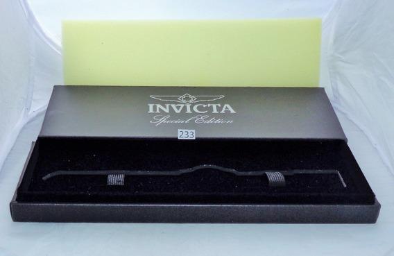 Estuche Original P/ Reloj Invicta Edicion Especial # 123