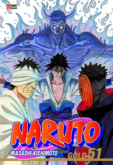 Naruto Gold 51 Mangá Panini! Edição Especial De Colecionador
