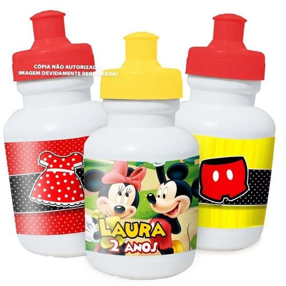 30 Squeeze Personalizado Mickey E Minnie Festa Lembrança