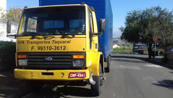 Ford Cargo Ano 98 Modelo 1415 Toco Cumins Bau 6,50