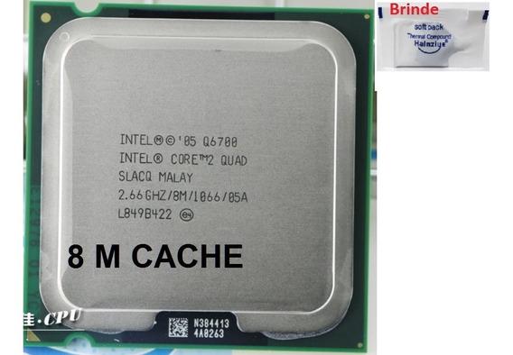 Processador Intel Core2 Quad Q6700 2.66ghz 8mb 775+ Pasta
