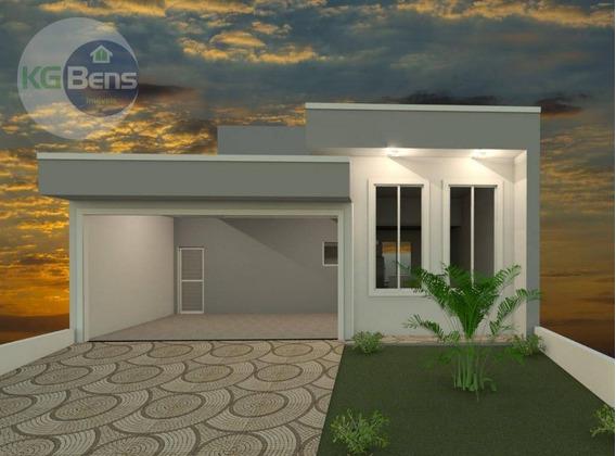 Casa Residencial À Venda, Condomínio Real Park, Sumaré. - Ca0345