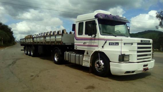 Scania 113 360 Top Line Orinal, 8 Marchas A Toda Prova