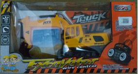 Retroescavadeira Truck Power Machine Na Caixa Original
