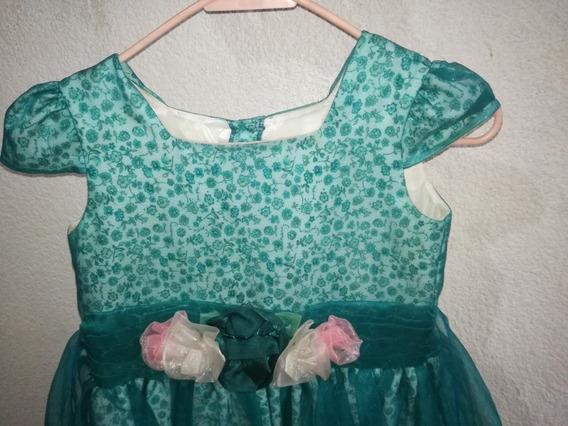 Vestido De Fiesta Niña Talla 10 Elegante
