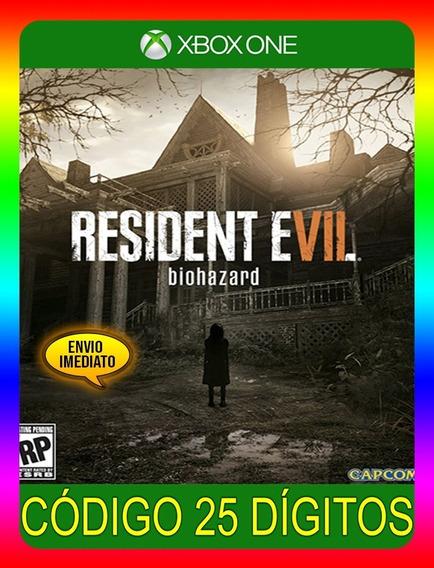 Resident Evil 7 Biohazard Xbox One - 25 Díg. (envio Flash)