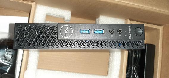 Desktop Dell Optiplex 3060 Mini I3 (8ªg) 8g Ddr4 Hd M2 128gb