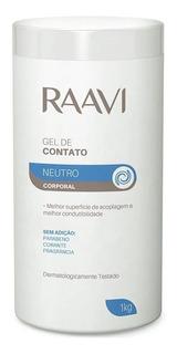 Raavi By Fler Gel De Contato Neutro Corporal 1kg