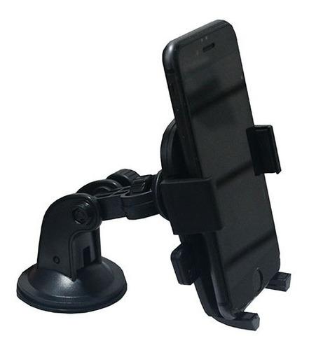 Imagen 1 de 8 de Soporte Celular Auto Flexible Vidrio Ventosa Moto J5 J7 Gps