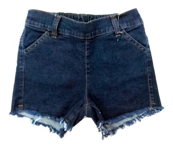 Pantalon Corto Short Niñas Jean Marca Pampero (angela Demin)